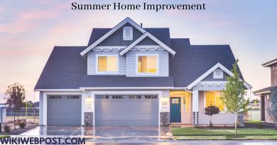 Summer Home Improvement